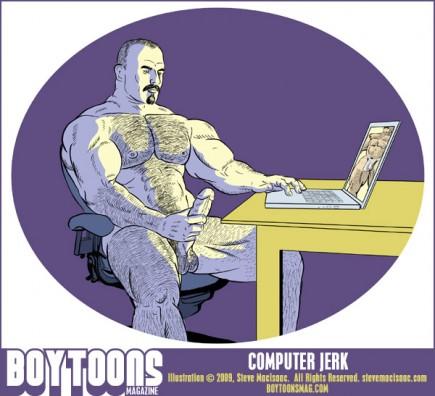 Card - 039 - Computer Jerk