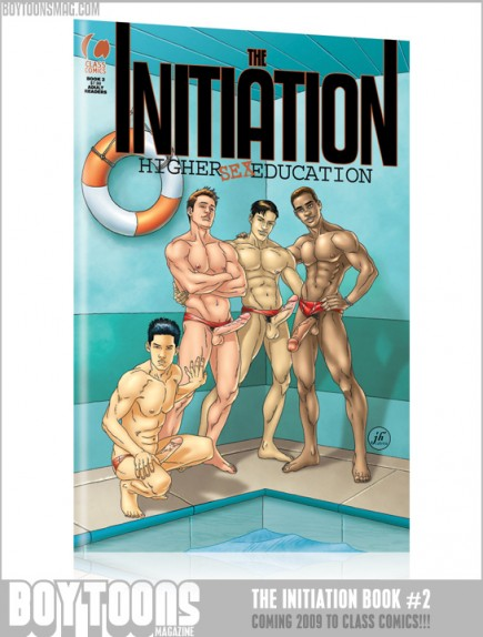 Cover to The Initiation #2.