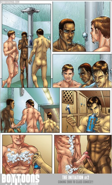 The swim team gets a close shave in The Initiation #2.