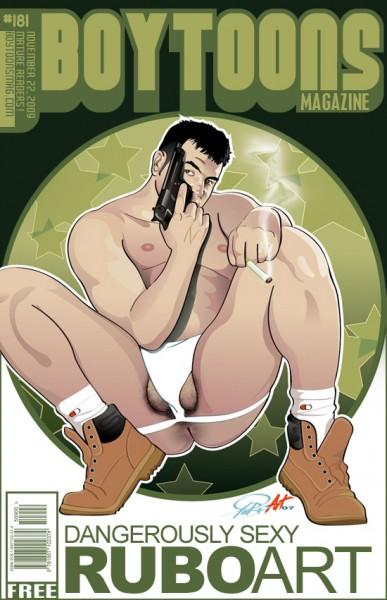 Boytoons Magazine #181 cover