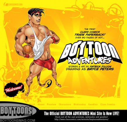 The official BOYTOON ADVENTURES mini site is now live, and features a bunch of cool previews and goodies!