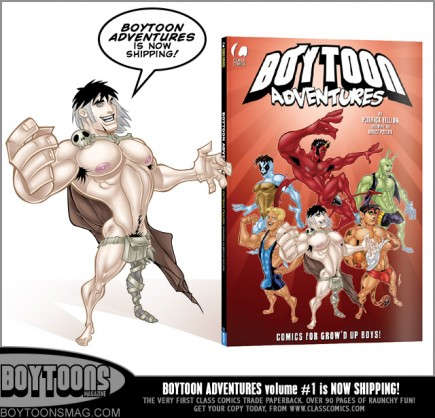 Boytoon Adventures #1 is now on sale from Class Comics.