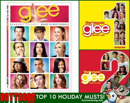 BOYTOONS MAGAZINE top 10 Holiday Musts. GLEE!