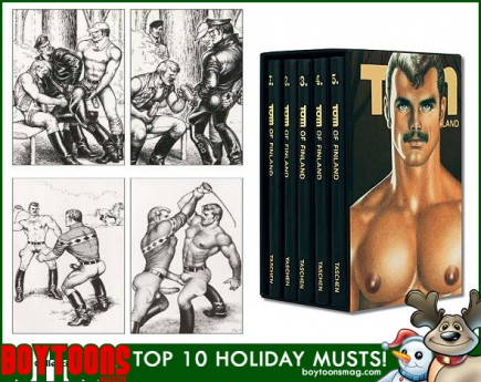 BOYTOONS MAGAZINE top 10 Holiday Musts. The Tom Of Finland Comics Collection.
