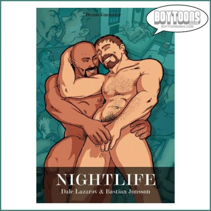 NIGHTLIFE is now available. Story by Dale Lazarov, Art by Bastian Jonsson, Colors bt Yann Duminil.