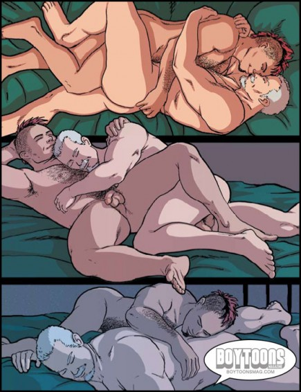 Unabashedly sexual, but also very romantic... a page from NIGHTLIFE.