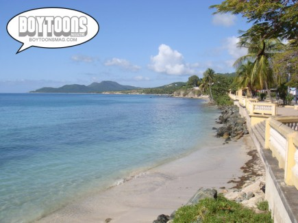 The island of Vieques in Puerto Rico; can you think of a better place to spend New Year's Eve?