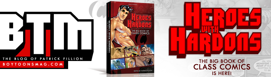 HEROES WITH HARDONS: The Big Book Of CLASS COMICS is here! Image