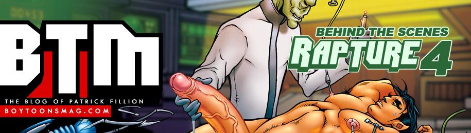 BOYTOONS MAGAZINE #213 – RAPTURE #4… Behind the Scenes! Image