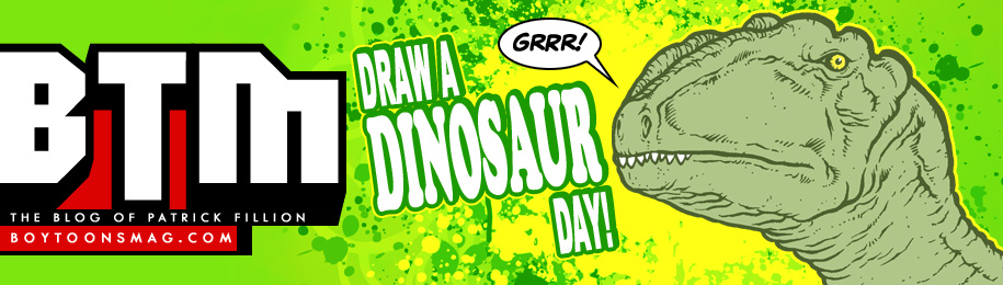 Draw a Dinosaur Day 2012! Image