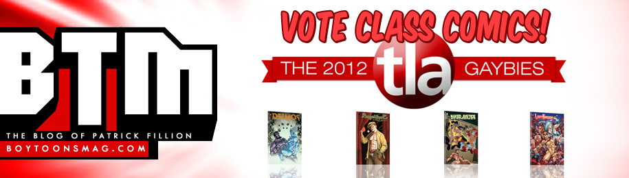 The 2012 TLA GAYBIES – VOTE CLASS COMICS! Image