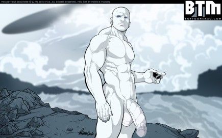 PROMETHEUS ENGINEER NUDE variant by Patrick Fillion