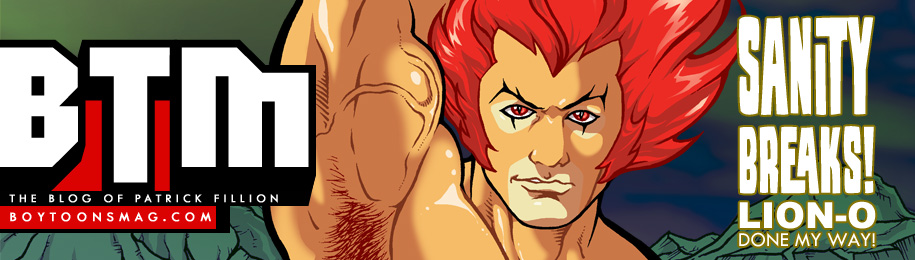 BOYTOONS MAGAZINE #221 – Sanity Breaks and LION-O! Image